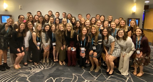 WKU Panhellenic, InterFraternity Councils recognized at AFLV Greek Leadership Conference