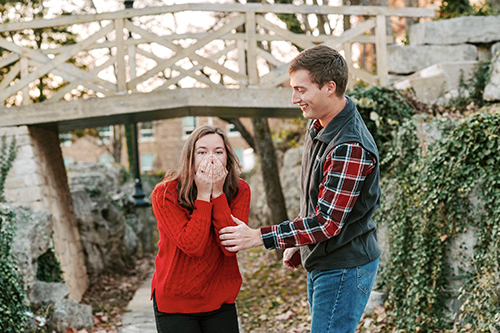 View from the Hill: Engaged couple recalls their WKU courtship