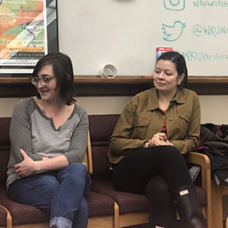 Professional Writing Club Holds First Meeting of the Semester