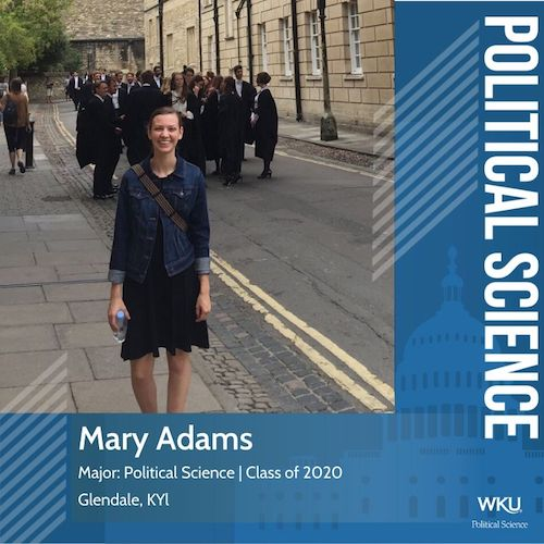 Student Profile: Mary Adams