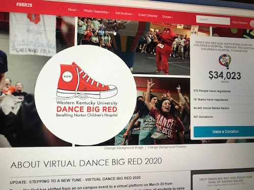 6th annual Dance Big Red goes virtual, raises over $34,000