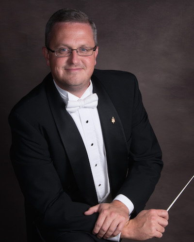 Dr. Matthew McCurry named Associate Director of Bands, Director of Big Red Marching Band