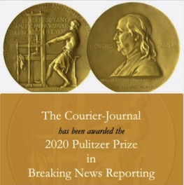 WKU alumni part of Courier Journal's Pulitzer-winning news staff