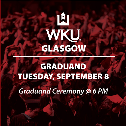 WKU in Glasgow Sets New Date for Spring 2020 Graduand Ceremony