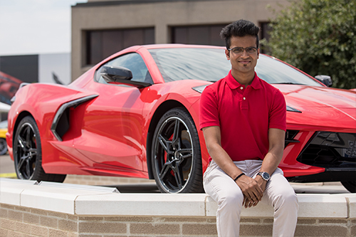 Patel's internship offers hands-on experience with data analytics