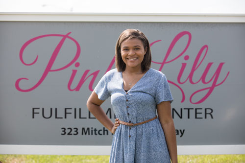 Browning gains experience in fashion industry while staying close to home