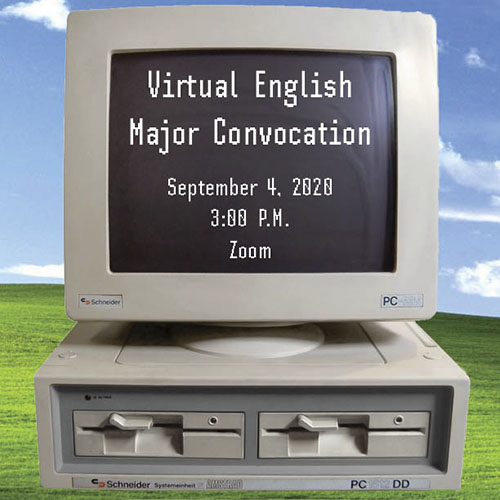 Virtual English Majors Convocation Program
