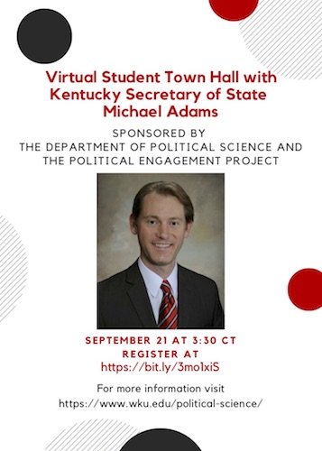 Michael Adams Student Town Hall