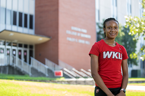 WKU student-athlete prepares for career in financial planning