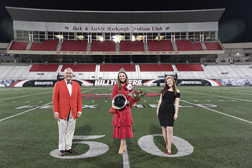 Sarah Harne crowned 2020 Homecoming queen