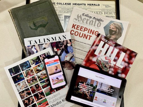 WKU Student Publications has record five Pacemaker finalists