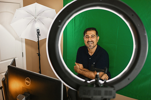 Math professor's calculus video series adds up to student success