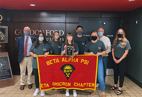 WKU's Beta Alpha Psi chapter captures first-ever Gold Chapter Award