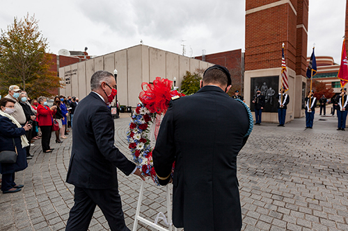 WKU honors heroes at annual Veterans Day ceremony