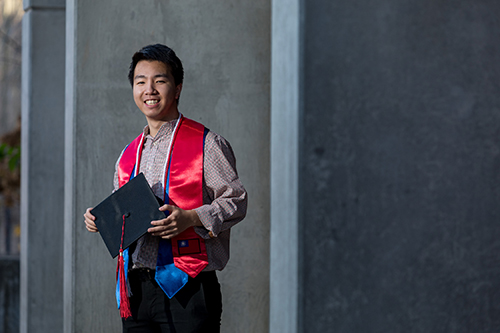 First-generation college student pursues international opportunities