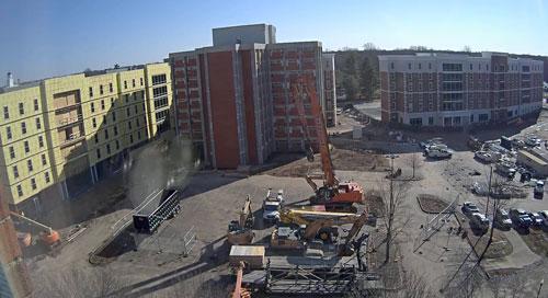 Livestream of Barnes Campbell Hall Demolition