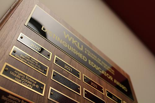 WKU Distinguished Educator Award nominations close Jan. 31