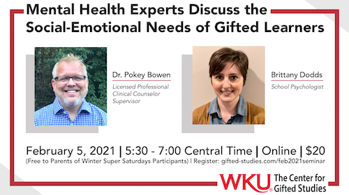 Mental Health Experts Discuss the Social-Emotional Needs of Gifted Learners