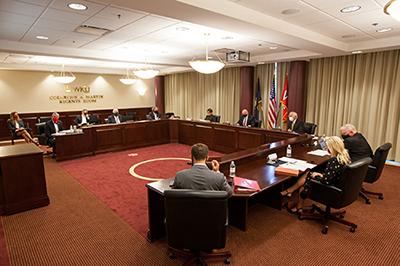 WKU Regents to conduct committee meetings Jan. 22