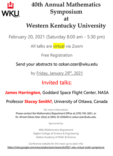 WKU to host 40th Annual Mathematics Symposium Feb. 20