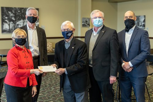 The Bowling Green Rotary Club Donates Tuition for Summer Programs with The Center for GIfted Studies