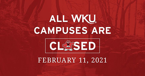 WKU Winter Weather Alert for Feb. 11