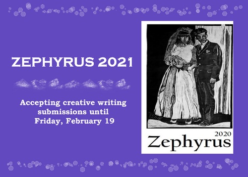 Zephyrus Accepting Submissions for 2021 Edition Under Minor Changes