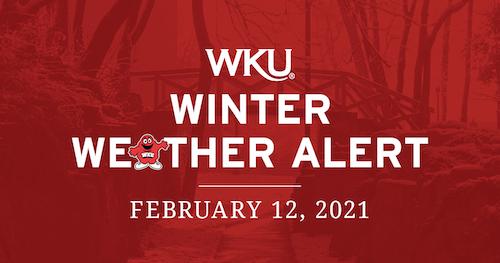 WKU Winter Weather Alert for Feb. 12