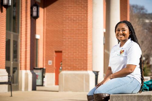 Student builds leadership skills through campus involvement