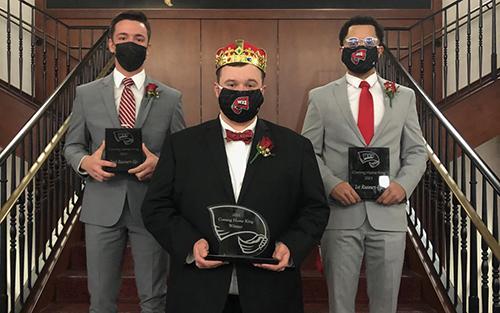 Bradon Burks crowned WKU's 2021 Coming Home King