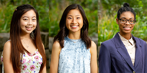 Three Gatton Academy Students Receive National and Regional Recognition From NCWIT Aspirations in Computing