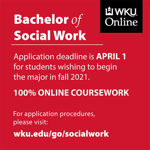 WKU in Owensboro Students Can Now Enroll in 100% Online Bachelor of Social Work Program