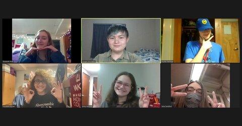 Students Host Virtual English Salon