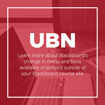 Blackboard's Ultra Base Navigation