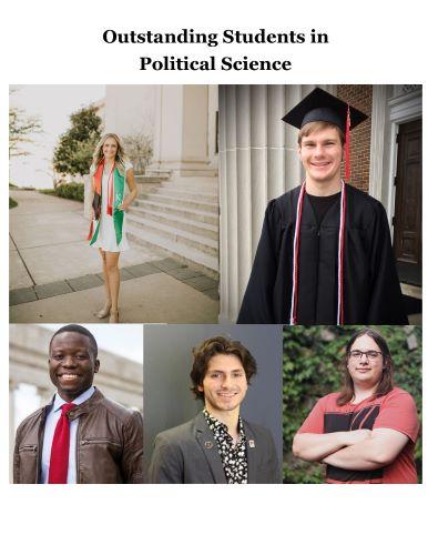 Political Science Award Winners