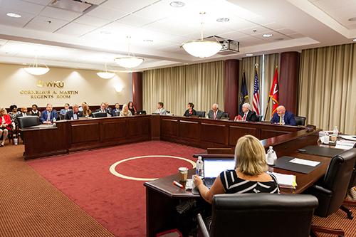 WKU Regents approve $375.6 million budget