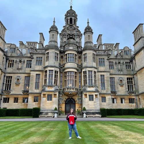Studying Abroad During a Pandemic: English Major Catherine Sheffield's Experience