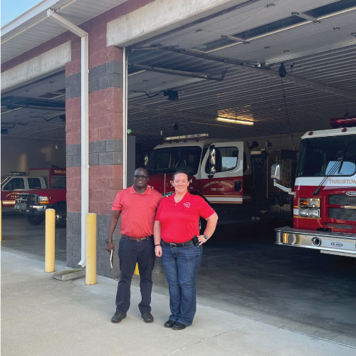 Faculty and Students from the Center for Environmental and Workplace Health Receive Grant to Improve Firefighter Health
