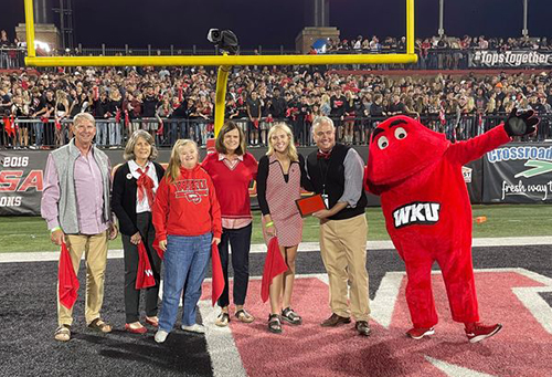 2021 WKU Family of Year recognized