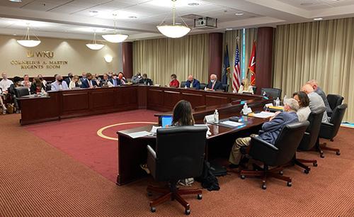 WKU Regents to conduct committee meetings Oct. 22