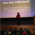 Students get an inside look at infectious disease with Dr. Rebecca Shadowen