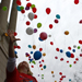 Aiming Sky High balloon release attracts hundreds
