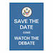 Debate Watch & National Voter Registration Day - Sep 26 & 27