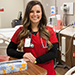 Nursing student shapes college experience to serve others close to home