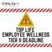 Deadline: Tier II Employee Wellness
