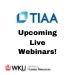 TIAA Live Webinars!