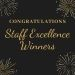 Staff Excellence Awards 2021