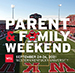 WKU to celebrate Parent & Family Weekend Sept. 24-26