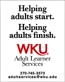 Adult Learner Services: Helping Adults Start, Helping Adults Finish; adultservices@wku.edu