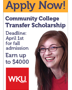 Community College Transfer Scholarship Deadline April1